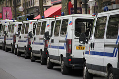 French police cars by Arjan Eising sur Flickr
